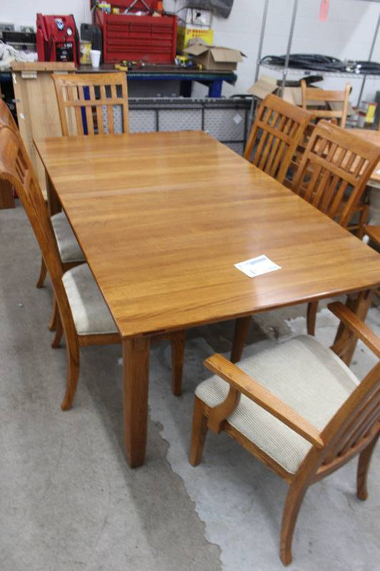 Lexington Home Brands An Arts And Crafts Collection From Bob Timberlake Wood Dining Table W 2 Leaf 6 Chairs