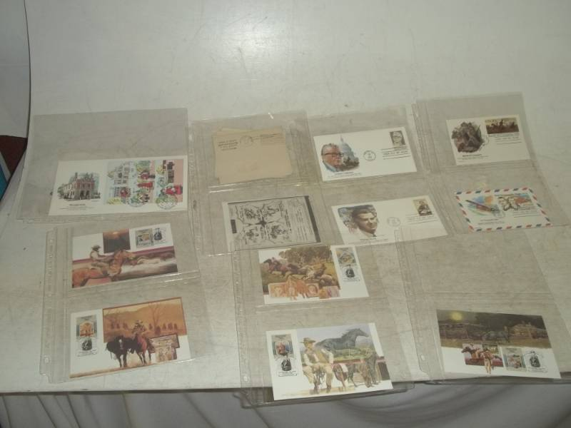 10 Assorted First Day Issue Stamps