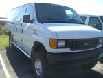 2006 Ford E-350 4x4 Extended Cargo Van