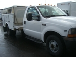 2001 Ford F-350 Ulitlity Box  ONLY 110 MILES