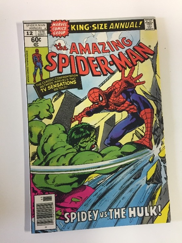 Marvel THE AMAZING SPIDER-MAN King-Size Annual #12 1978