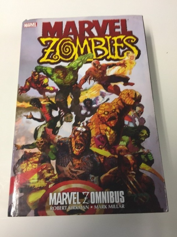 Marvel ZOMBIES Hardcover Book Ret $125