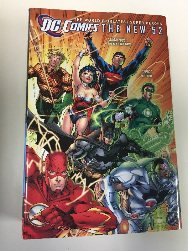 DC Comics The New 52 World's Greatest Super Heroes Hardcover Book