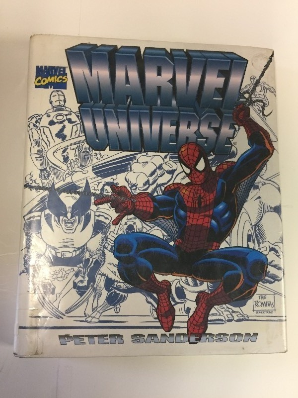 Marvel Comics MARVEL UNIVERSE Hardcover Book