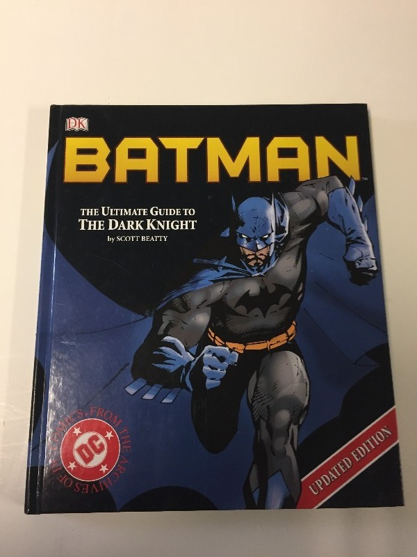 DC Comics - BATMAN - The Ultimate Guide to the Dark Knight - Hardcover book