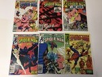 6 Marvel Peter Parker THE SPECTACULAR SPIDER-MAN Comic Books 60 cents