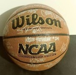 2014 UND Womens Signed Basketball