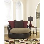 Brand New Sanya Oversized Chair and Ottoman by Ashley - Retail $1499.99
