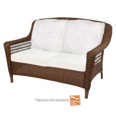Spring Haven Love Seat Brown