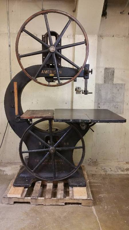 Antique American Band Saw