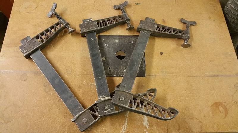 Large CT Co Vintage Clamps 12