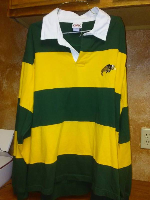 NDSU BISON NCAA Rugby long sleeve shirt Large