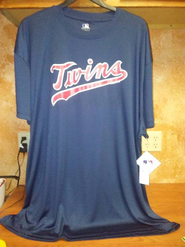 NEW MLB MN Twins Genuine Merchandise 3X