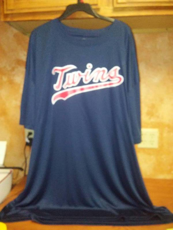 NEW MLB MN Twins Genuine Merchandise 4X