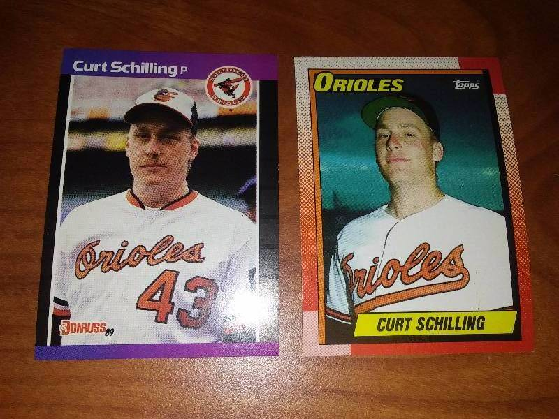 Curt Schilling Rookie Cards!!!!