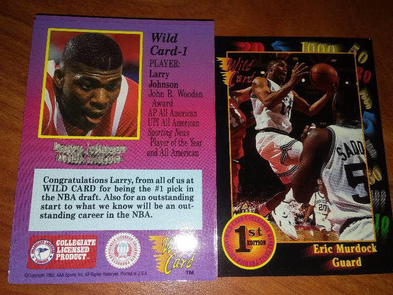 Wild Card First Edition Basketball NCAA