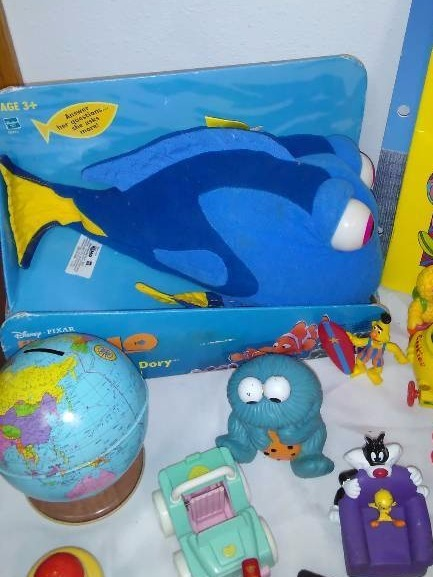 Toy Collection, Finding Nemo, Sesame Street, Porky Pig, Mini Mouse, Frozen and more