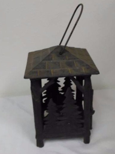Cast Iron Candle Lantern