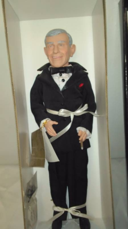 George Burns Commemorative Doll NIB