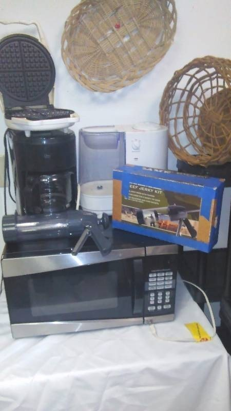 Small Appliance Jerky kit, Microwave, Coffee Maker, Waffle Iron and more