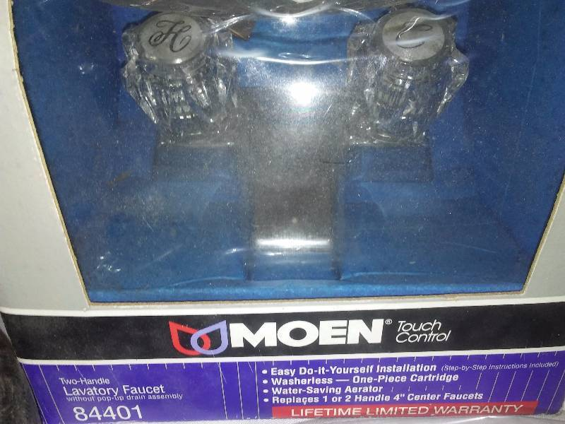DIY Plumbing Lot, New Moen Lavatory faucet and more