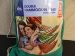 New Bliss Double Hammock in a Bag