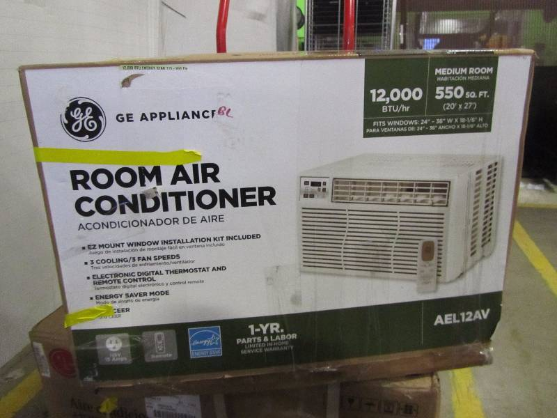 G.E. 12,000 BTU ENERGY STAR 115-Volt Electronic Room Air Conditioner