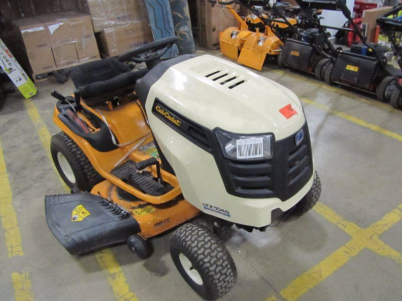 Cub Cadet LTX 1045 riding lawn mower with kohler engine