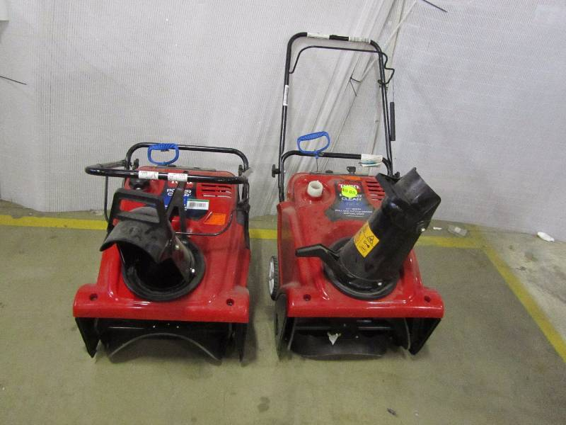(2) Power Clear 721 E 21 in. Single-Stage Gas Snow Blower