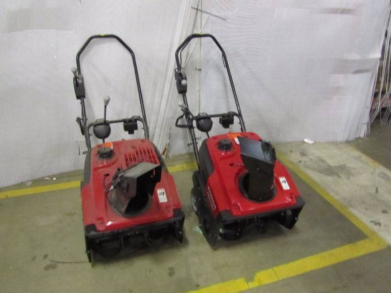 (2) Honda HS720AM 20 in. Single-Stage Gas Snow Blower