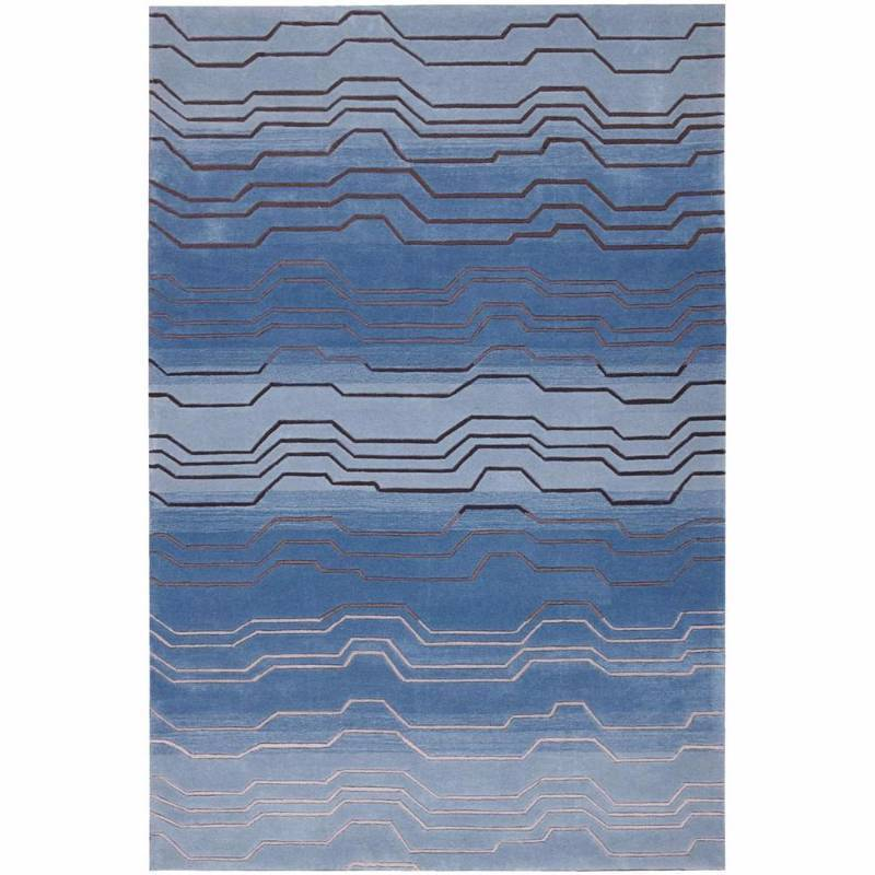 Nourison Contour Azure 8 ft. x 10 ft. 6 in. Area Rug