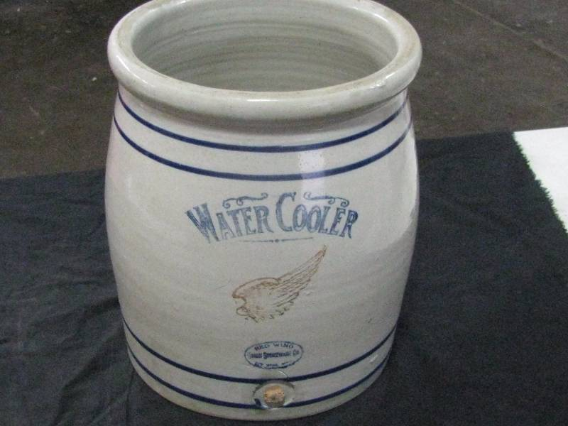 Red Wing Union Stoneware 5gl Hand Turned Crock Water Cooler