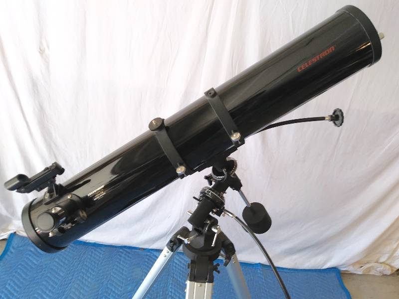 Celestron Telescope Model 31044 Firstscope 114 Eq 4 5