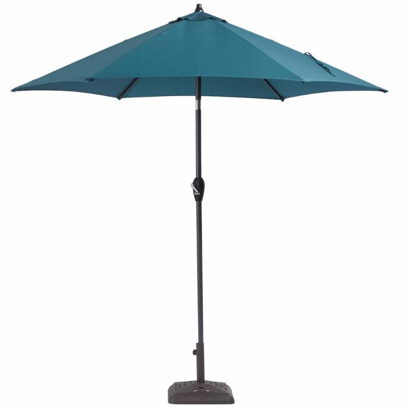 Hampton Bay 9 Ft Aluminum Patio Umbrella In Charleston