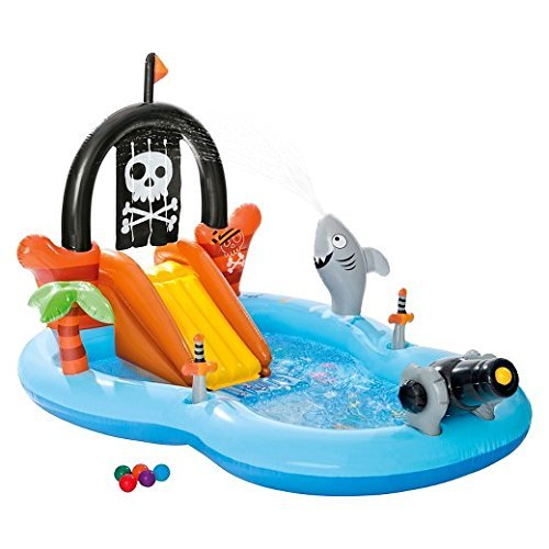 New, Intex Inflatable Pirate Play Center Pool