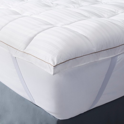 New, Damaged Package Luxury Down Alternative Mattress Topper - Fieldcrest