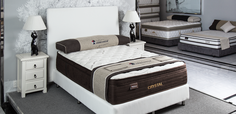 New American Star Queen Size Crystal Mattress / Box Spring Set - Retail $ 1799.99 - 15 Year Manufacturer Warranty