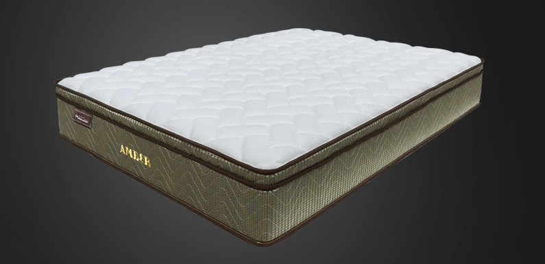 New American Star Twin Size Amber Mattress / Box Spring Set - Retail $ 999.99 - 12 Year Manufacturer Warranty