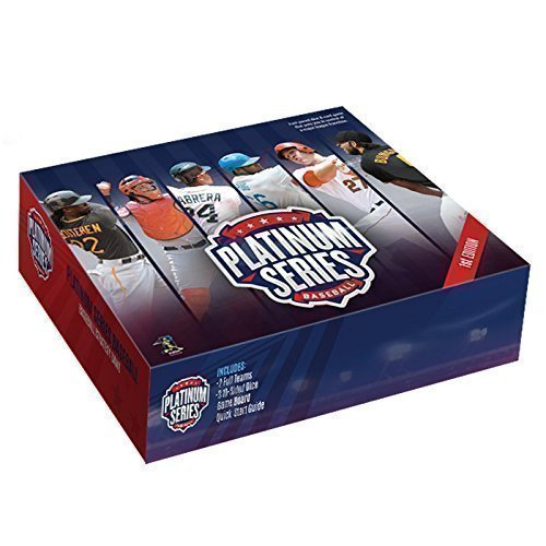 New Platinum Series Baseball 1st Edition - Fast Paced Dice & Card Game
