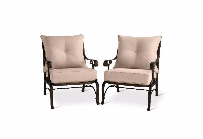 New Folwell 2-Piece Cast Aluminum Patio Club Chair - Threshold™
