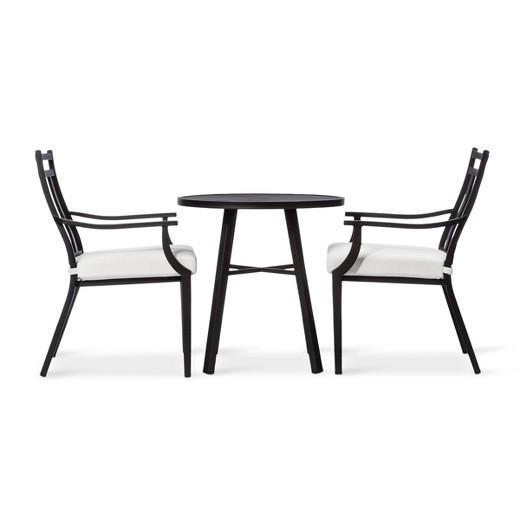 New Fairmont 3-Piece Steel Patio Bistro Set - Threshold™