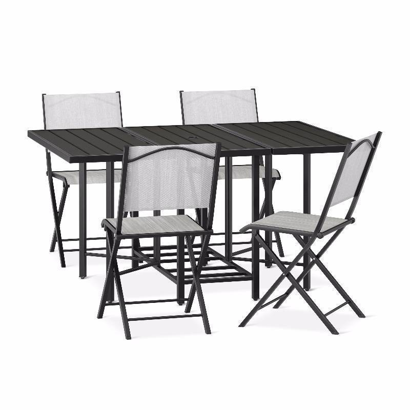 New Bryant 5-pc. Faux Wood Stowable Patio Dining Set - Threshold™