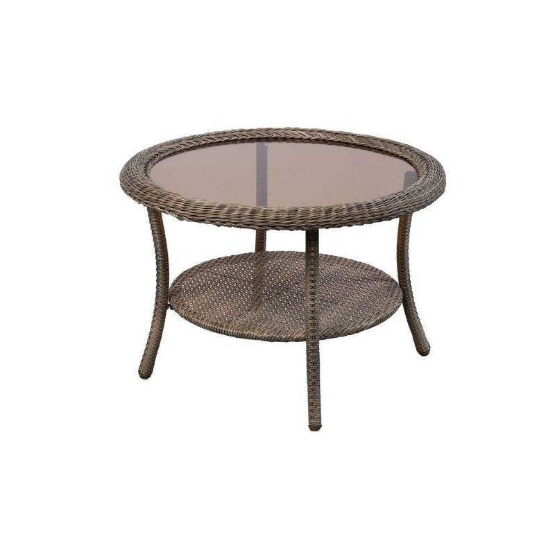 Spring Haven Patio Grey 30 in Coffee Table New