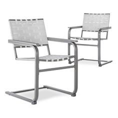 Threshold Outdoor Chairs set of 2 New