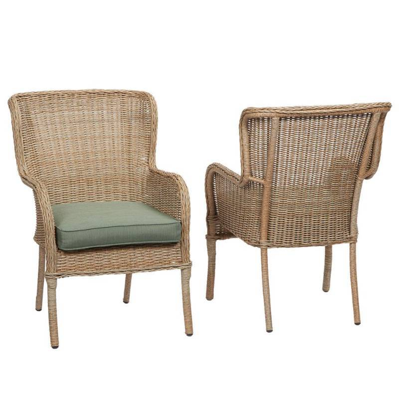 Hampton Bay Lkemon Grove 2 Pack Dining Chairs Not used
