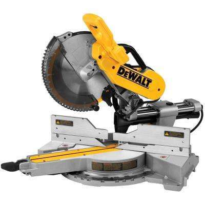 Dewalt 15 Amp 12 in. Sliding Compound Miter Saw open box not used