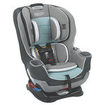 Graco Extend2Fit Convertible Car Seat - Turquoise