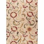 Tayse Rugs Laguna Ivory 7 ft. 6 in. x 9 ft. 10 in. Indoor Area Rug