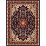 Tayse Rugs Sensation Navy Blue 7 ft. 10 in. x 10 ft. 6 in. Traditional Area Rug
