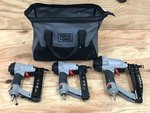 Porter Cable Pneumatic Tool Set Wit...